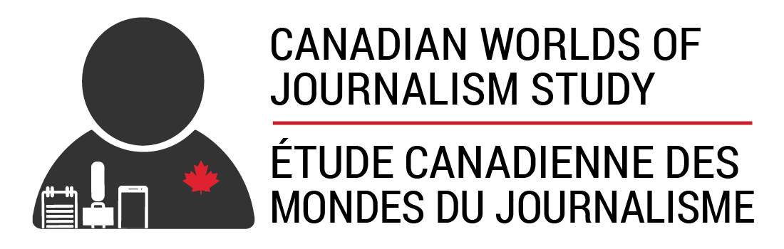 Canadian Worlds of Journalism Study | Étude canadienne des Mondes du Journalisme