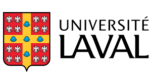 Logo for the Laval University. It is their name to the right of their crest.